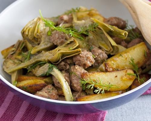 patate salsiccia e verdure ricetta light dieta WW
