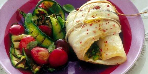 involtini di pesce ciliegie e zucchine, dieta weight watchers, weight wellness