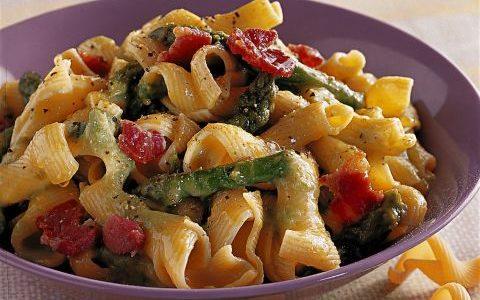 maccheroni agli asparagi, dieta weight wellness